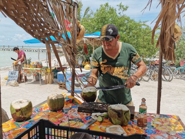 Kokosnoot Punta Cocos