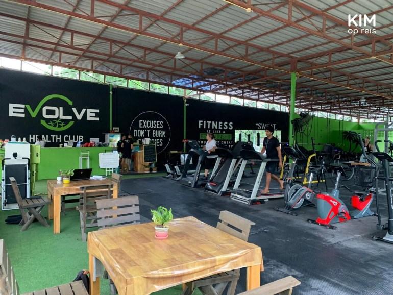 Evolve sportschool op Koh Phangan