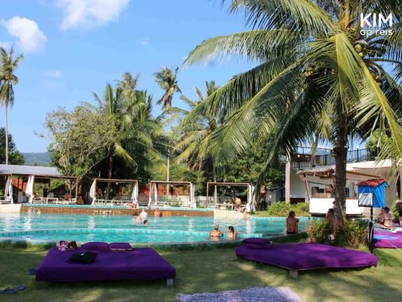 Zwembad Infinity Beach Club Koh Phangan