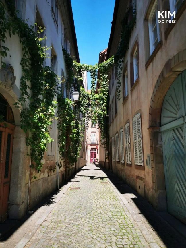 Smalle straatjes in Straatsburg