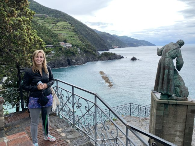 Monterosso al Mare in de regen