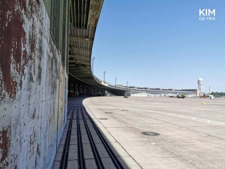 Tempelhof landings en vertrekbanen