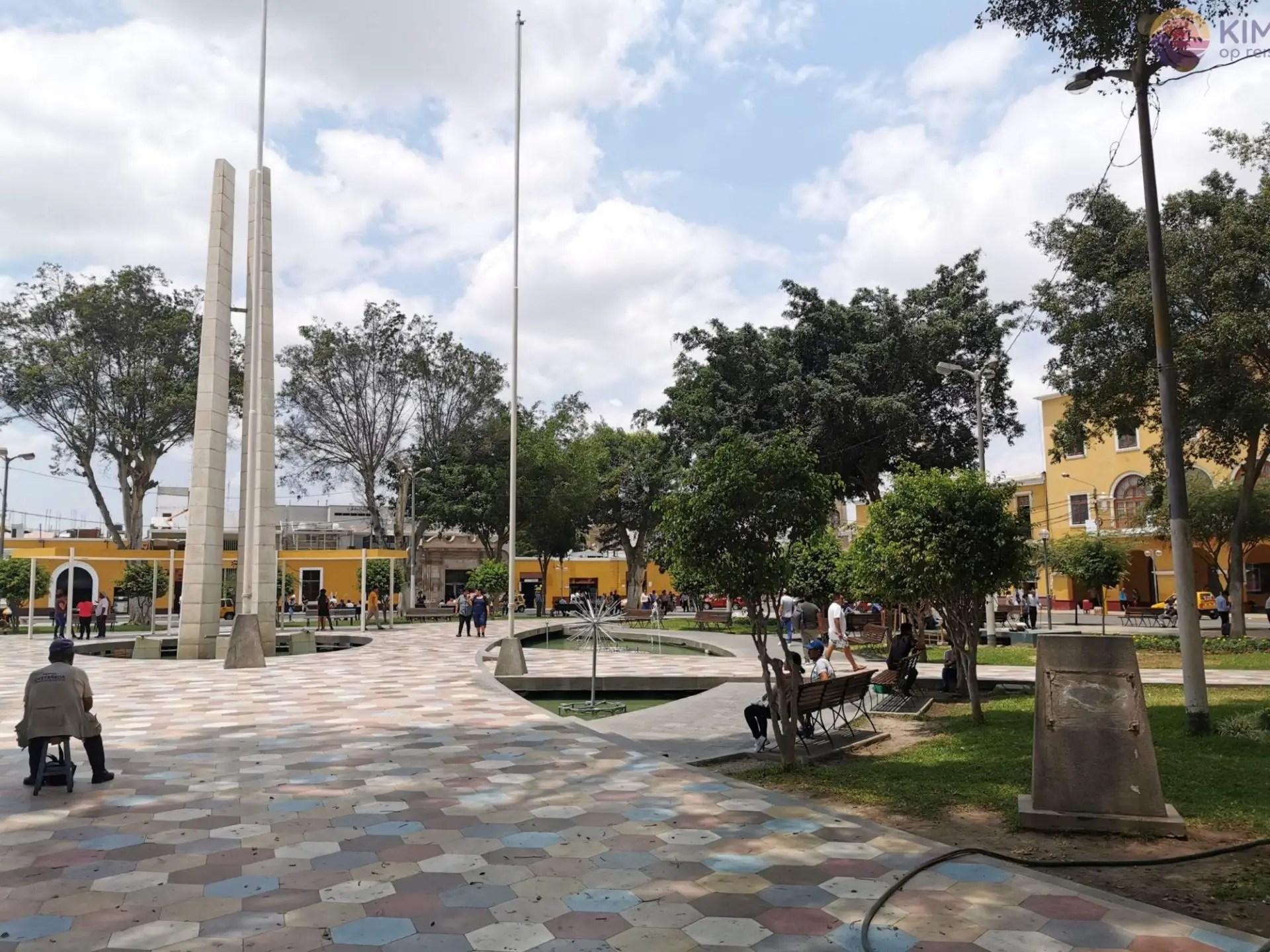 Plaza des Armas Ica