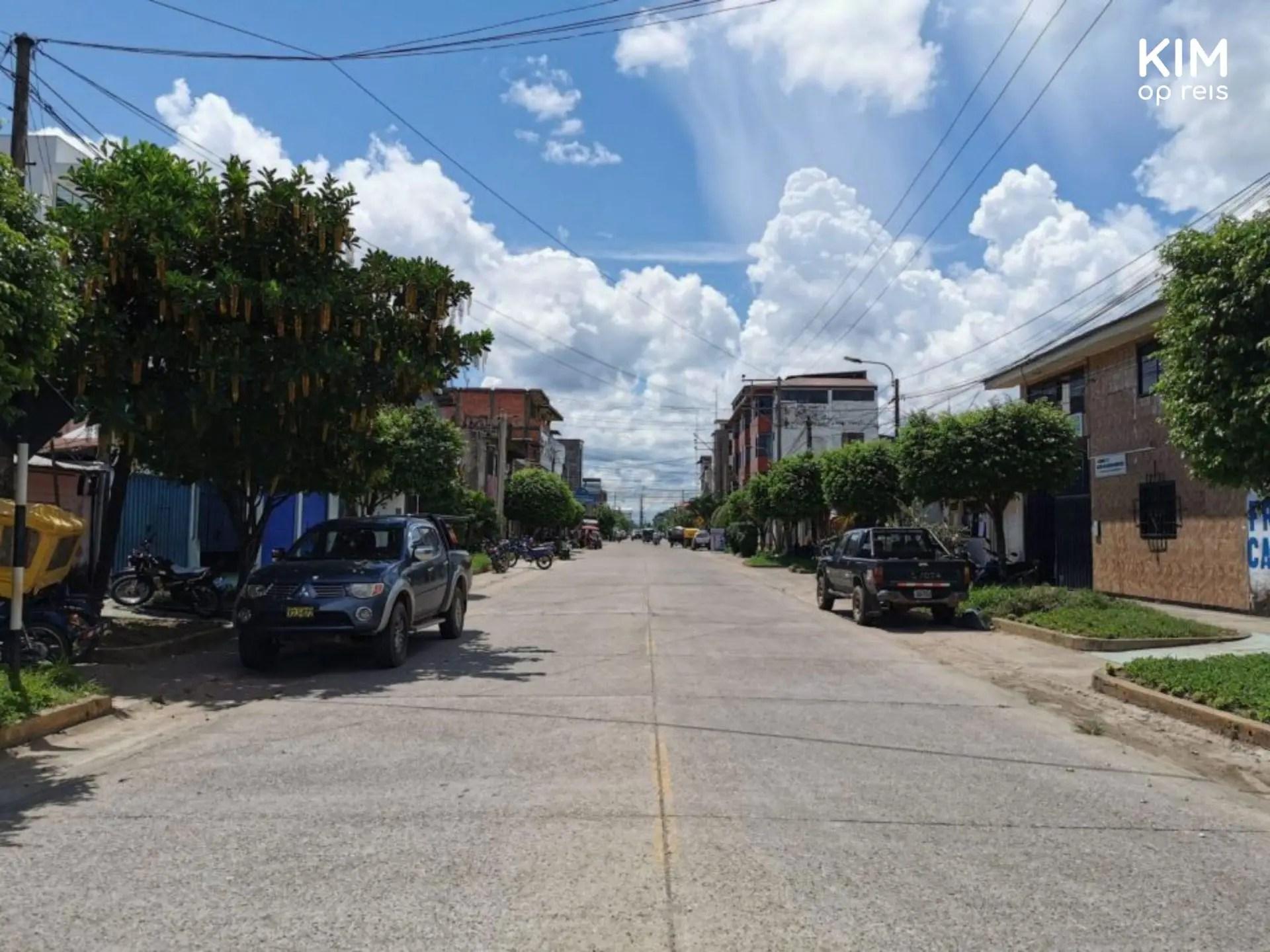 Straatbeeld Puerto Maldonado