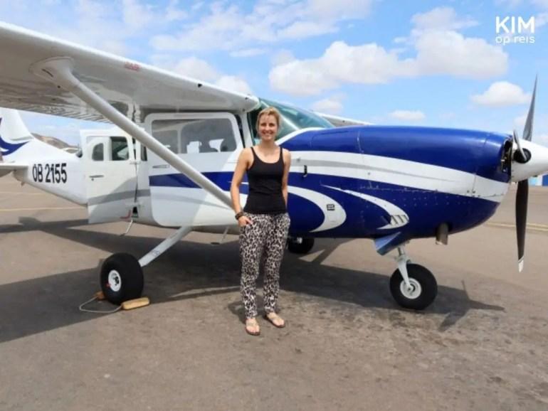Vliegtuigje Nazca