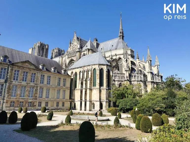 Kathedraal en Palais du Tau