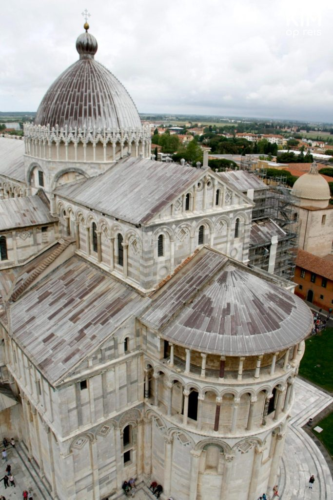 Pisa cathedral from above