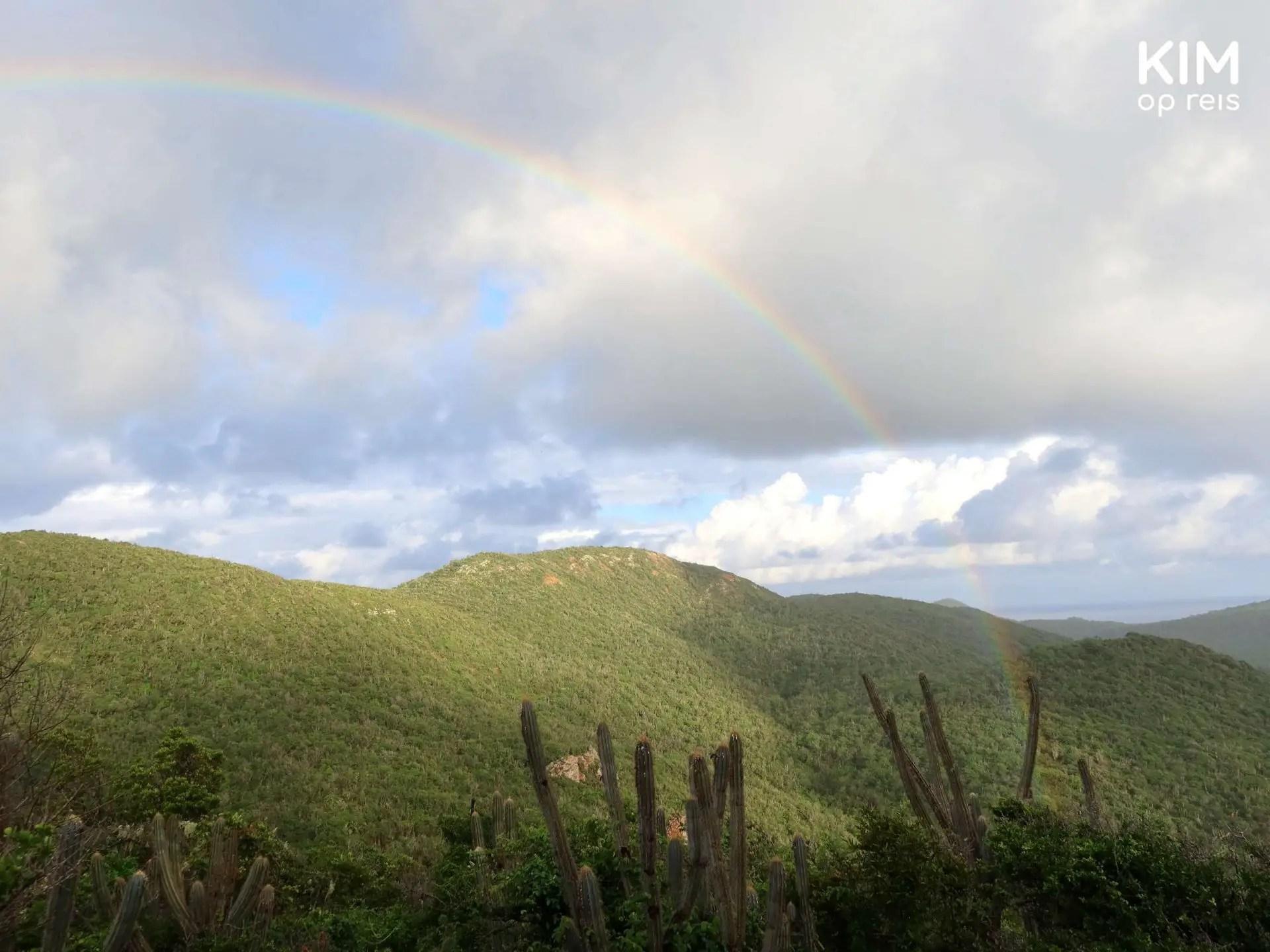 Regenboog Christoffelpark Curaçao