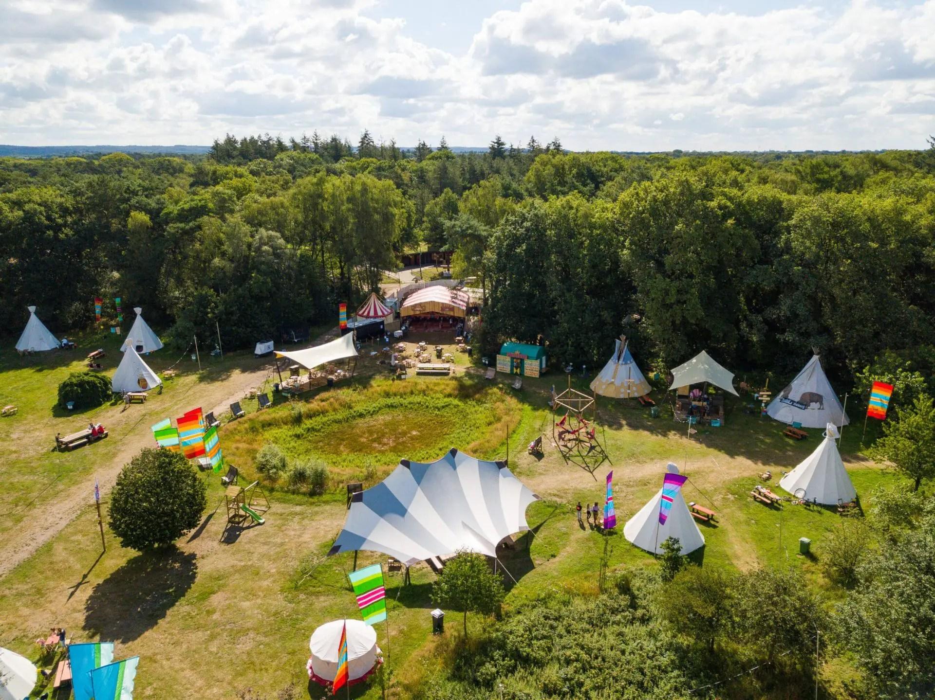 Overzicht - Camping de Wereld