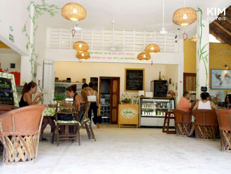 Isla Holbox Le Jardin: interieur van restaurant