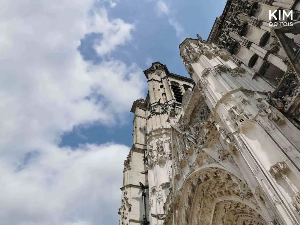 Detail kathedraal Troyes