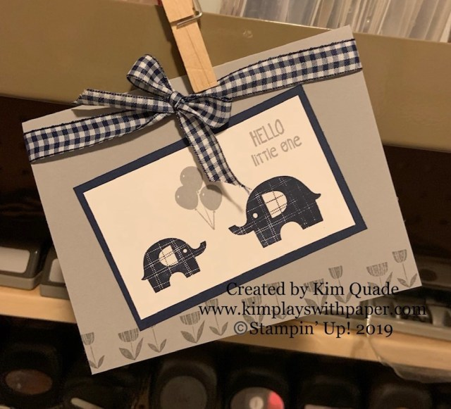 Stampin' Up! #simplestamping, Little Elephant