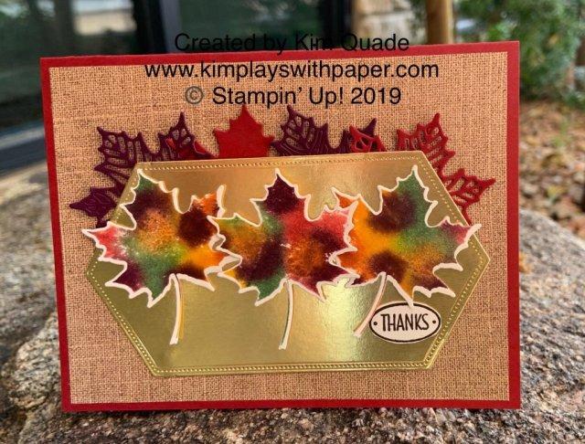 Stampin' Up! Colorful Season and Seasonal Layers Dies
