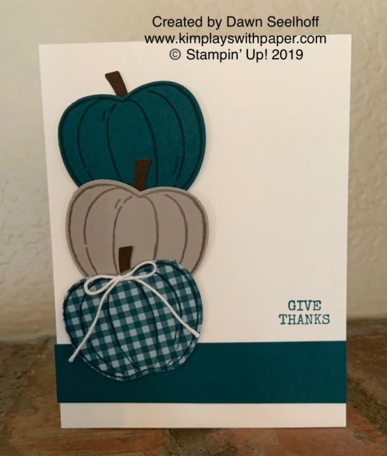 Stampin' Up! Harvest Hellos Bundle