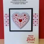 Valentine Card featuring Stampin