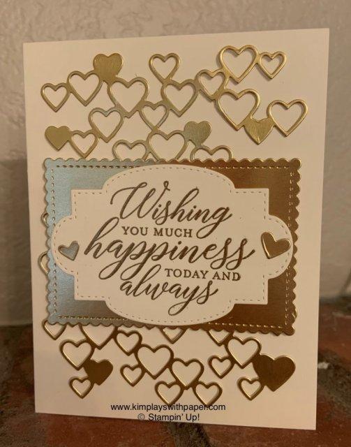 Stampin' Friends Wedding Wishes