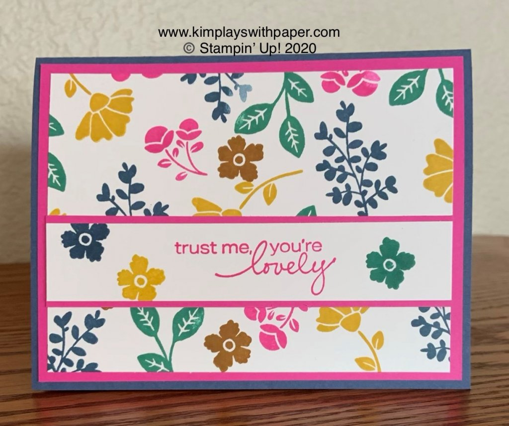#simplestamping In Colors and Lovely You