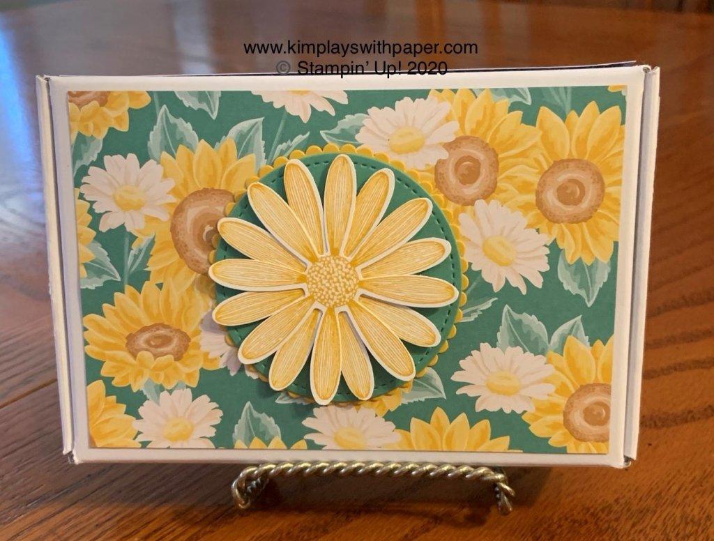 Daisy Mini Paper Pumpkin Box