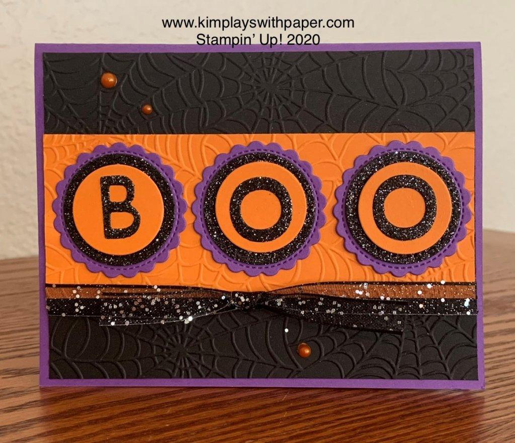 Halloween Boo Card Sample