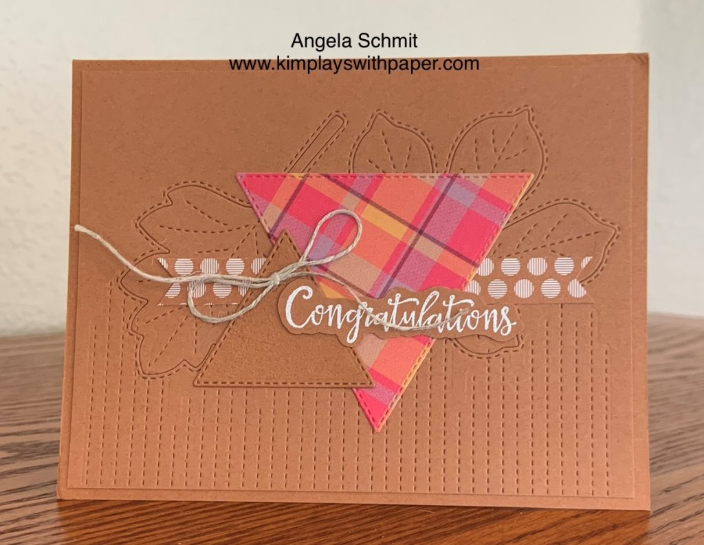 Stampin' Up! Stitched Triangles Dies