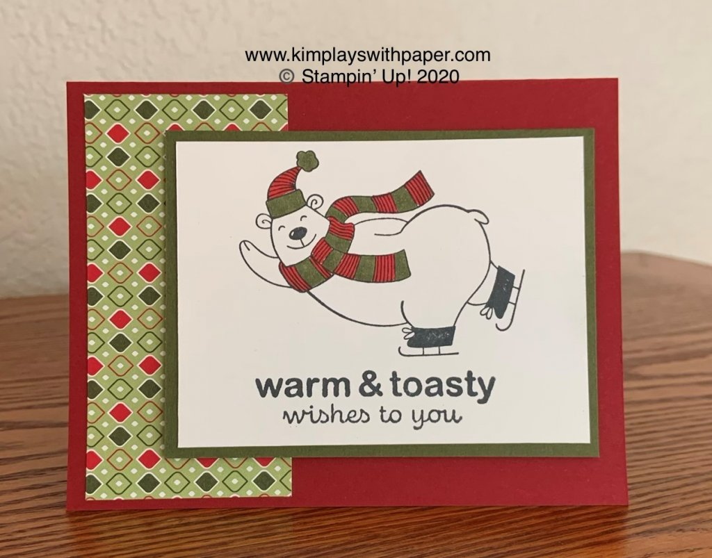 Warm and Toasty Card Samples