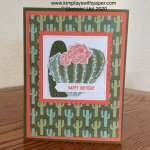 Flowering Cactus Card Samples