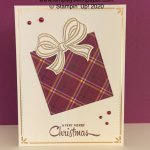 Gift Wrapped Free Card Tutorial