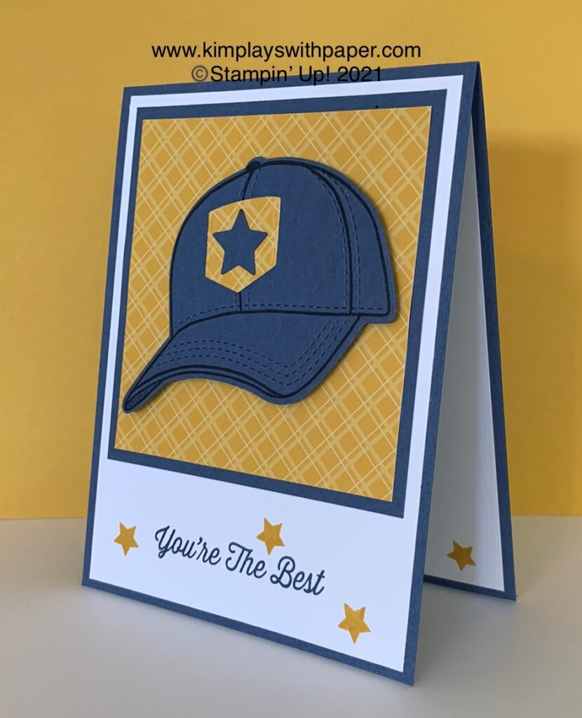 Hats Off Card Tutorial