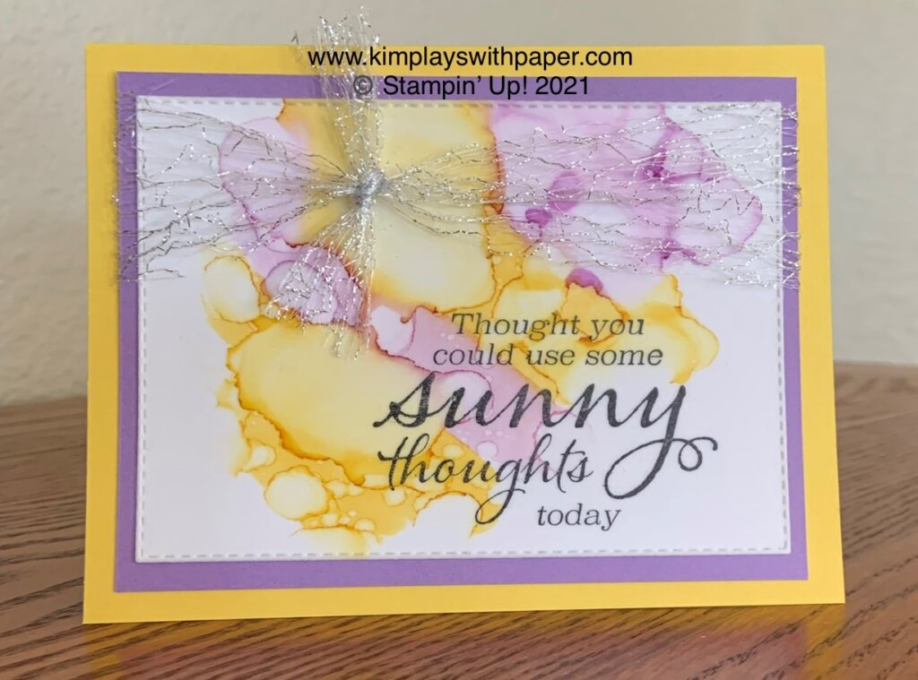 Sunny Sentiments Thinking of You