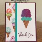 Sweet Ice Cream #simplstamping