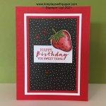 Sweet Strawberry Bundle Birthday