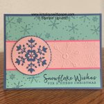 Snowflake Wishes Card Samples