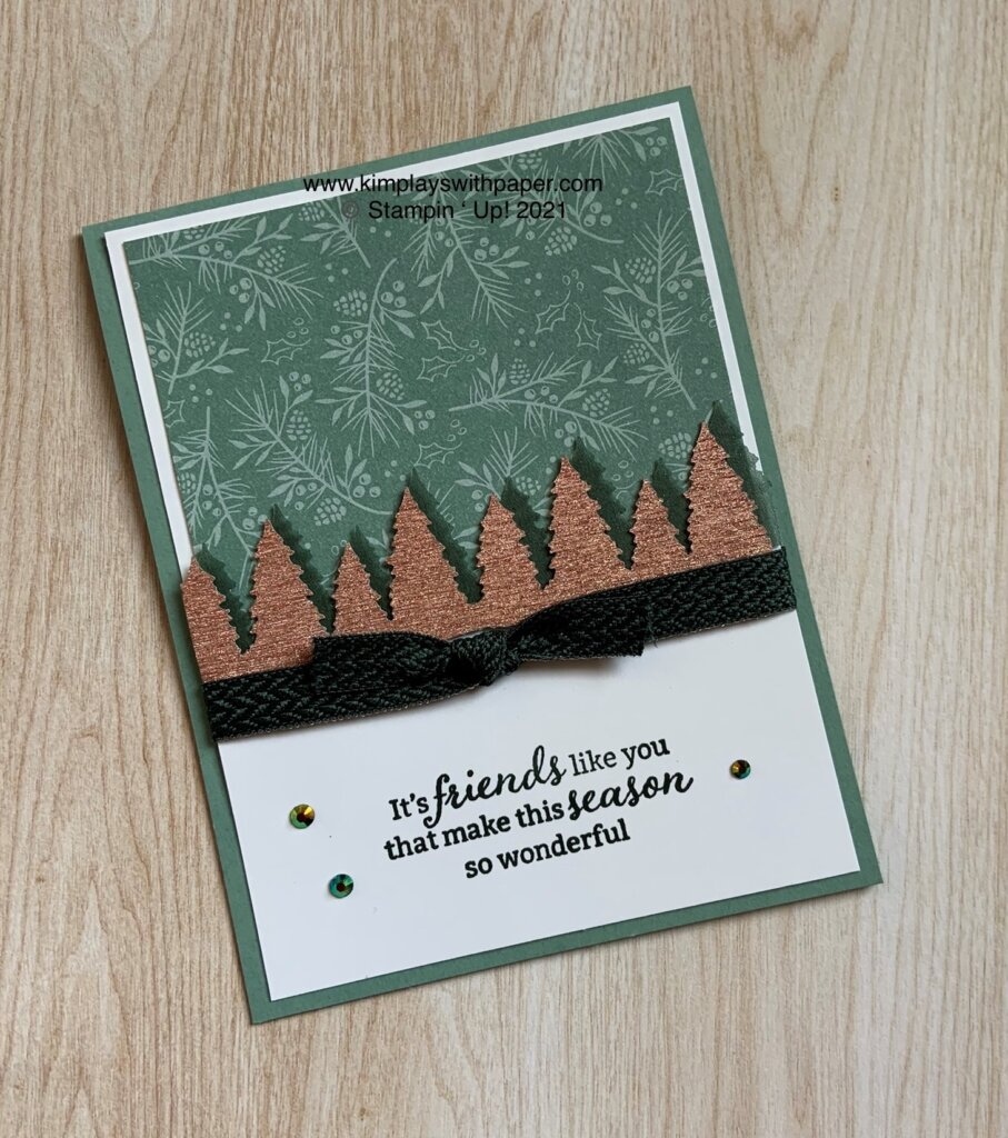Tidings of Christmas Card Samples