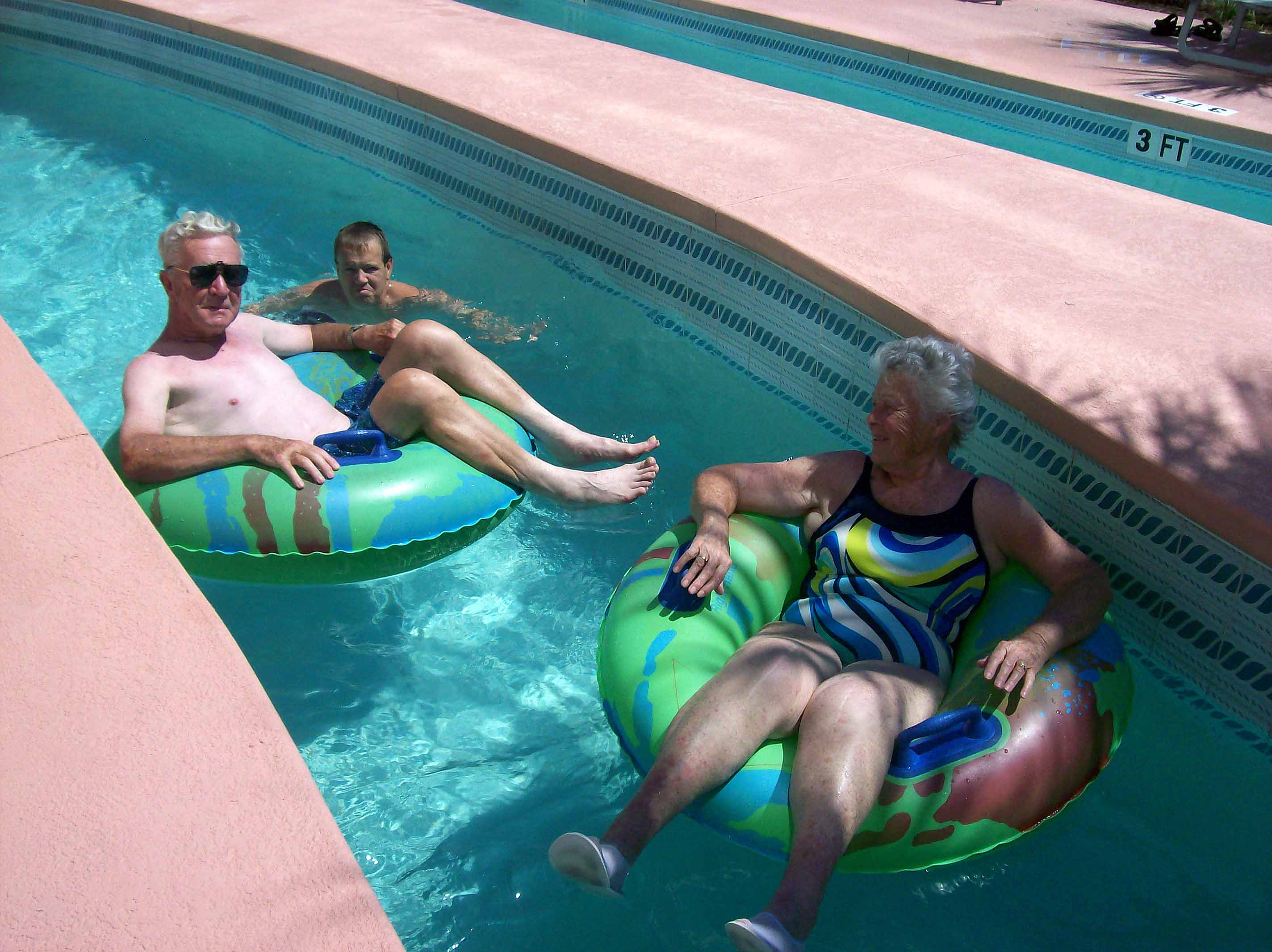 Not too old for the Lazy River