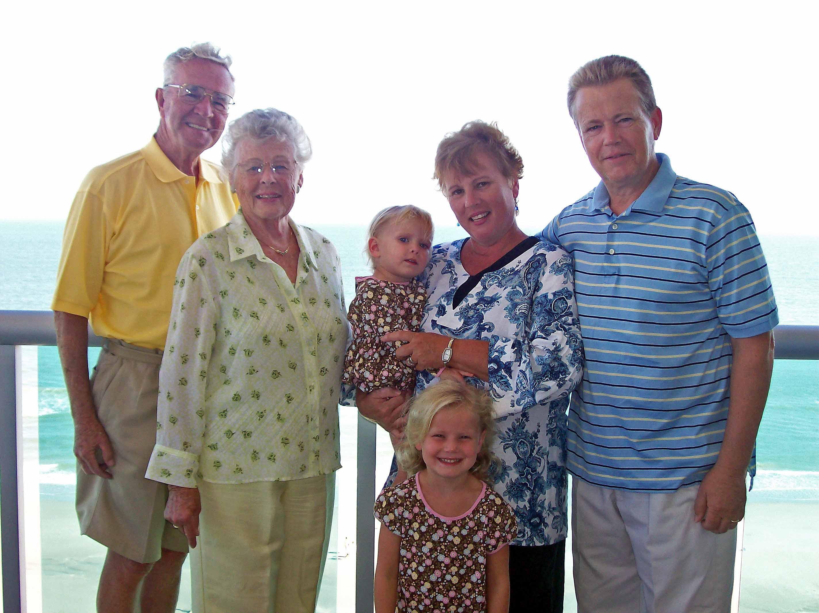 My Nana and Papa and My Mom and Dad
