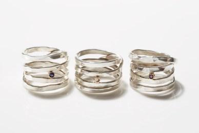 Saturn Birthstone Ring Cynthia Jones