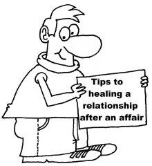 Healing relationships after affair