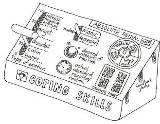 Coping skill apparatus