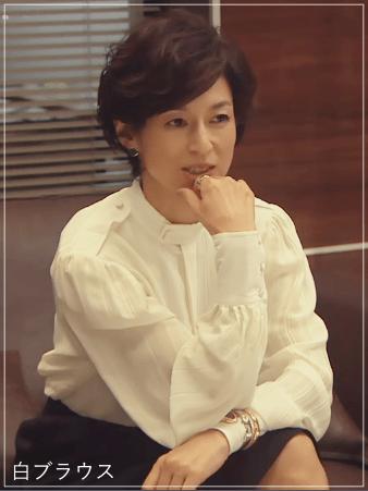 SUITS/スーツ[1話] 鈴木保奈美の衣装!ネックレスや時計はどこの?f