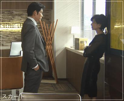 SUITS/スーツ[3話] 鈴木保奈美の服のファッション!ピアスにブラウスもa6