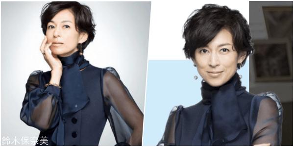SUITS/スーツ[3話] 鈴木保奈美の服のファッション!ピアスにブラウスも1