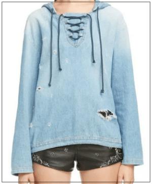 グッドワイフ[4話]水原希子の衣装! ティファニーのネックレスや洋服もnoname8