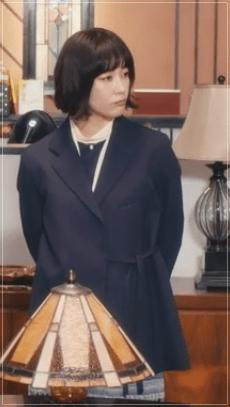 QUEEN[10話]水川あさみのドラマのファッション!指輪にコートやバッグw8