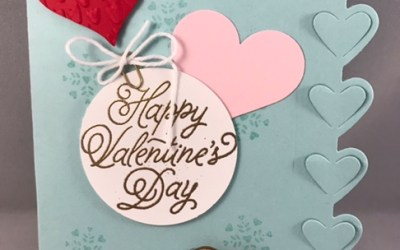 Valentine's Day is right around the corner!  Don't delay in getting your projects done!
