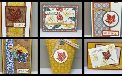 Facebook Live REPLAY – September 16th – Gorgeous Leaves Fall Themed Projects!
