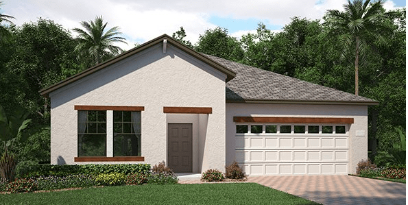 The-Oaks-at-Shady-Creek/Bourne 1,971 sq. ft. 3 Bedrooms 2 Bathrooms 2 Car Garage 1 Story Riverview Florida
