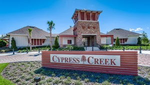 CYPRESS CREEK – RESORT-STYLE POOL, WALKING TRAILS, FITNESS STATIONS, PLAYGROUND, 2 HALF-COURT BASKETBALL COURTS, PICNIC AREA, OPEN-AIR CLUBHOUSE, PASSIVE PARK AND BASIC CABLE.