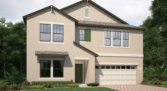 Lennar Homes The Oaks at Shady Creek Riverview Florida – New Homes