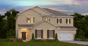 Read more about the article Serenity Creek The Stanford 3,825 sq. ft. 4 bed Master upstairs 4 bath 3 bay garage 2 stories Bradenton Fl