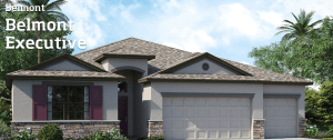 Belmont/Belmont-Executive The Newcastle 2,599 sq. ft. 4 Bedrooms 3 Bathrooms 3 Car Garage 1 Story Ruskin Florida